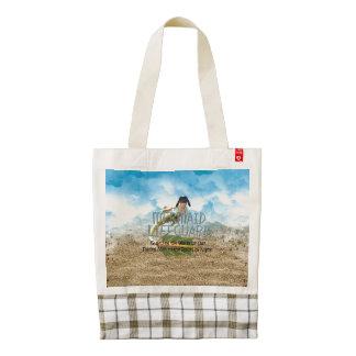 TEE Mermaid Lifeguard Zazzle HEART Tote Bag