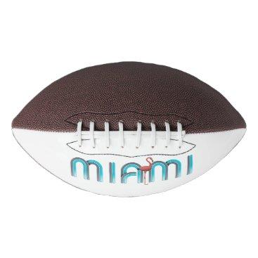 Beach Themed TEE Miami Football