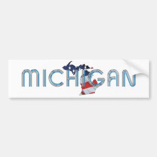 TEE Michigan Patriot Bumper Sticker