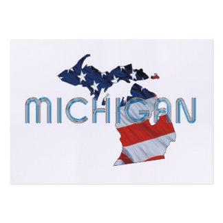 TEE Michigan Patriot Business Card Template