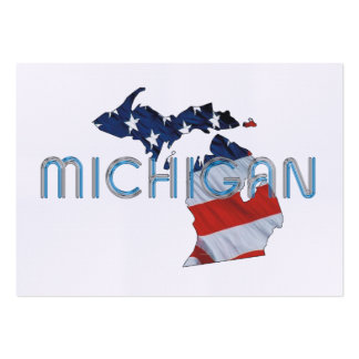 TEE Michigan Patriot Large Business Card