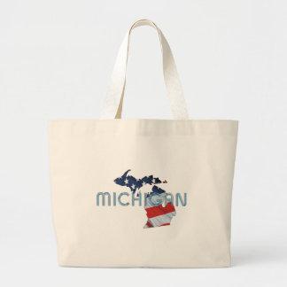 TEE Michigan Patriot Large Tote Bag