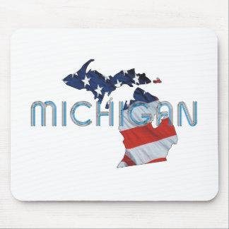 TEE Michigan Patriot Mouse Pad