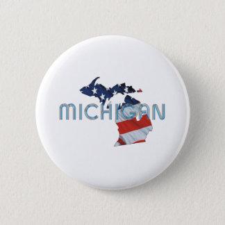 TEE Michigan Patriot Pinback Button