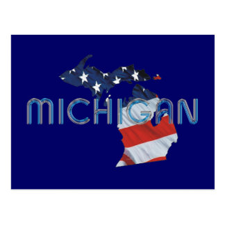 TEE Michigan Patriot Post Card