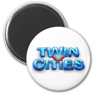 TEE Minneapolis 2 Inch Round Magnet
