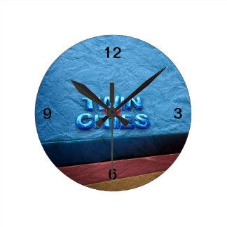 TEE Minneapolis Round Clock