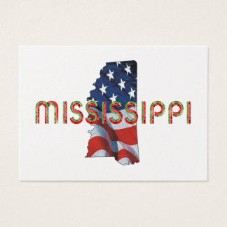 TEE Mississippi Patriot Business Card