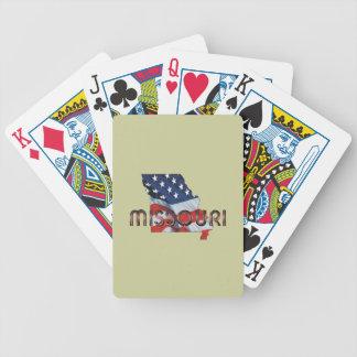 TEE Missouri Patriot Bicycle Playing Cards