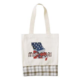TEE Missouri Patriot Zazzle HEART Tote Bag