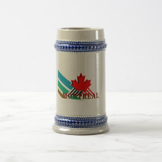TEE Montreal Beer Stein