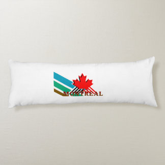 TEE Montreal Body Pillow