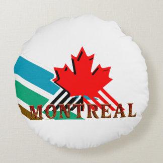 TEE Montreal Round Pillow