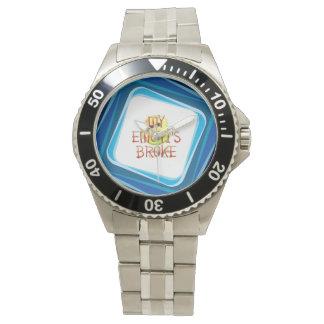 TEE My Emoti's Broke Wrist Watch