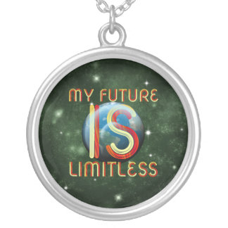 TEE My Future Silver Plated Necklace