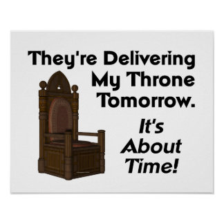 TEE My Throne Poster