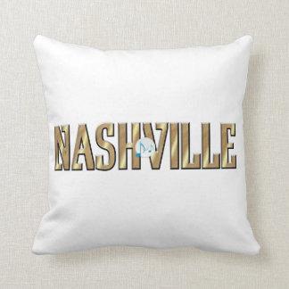 TEE Nashville Throw Pillow