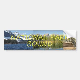 TEE National Park Bound Bumper Sticker