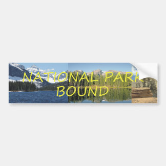 TEE National Park Bound Car Bumper Sticker