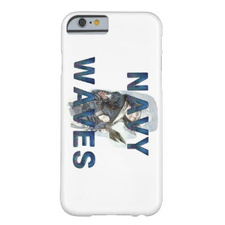 TEE Navy Waves Barely There iPhone 6 Case
