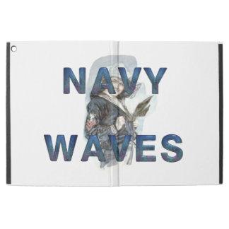 """TEE Navy Waves iPad Pro 12.9"""" Case"""