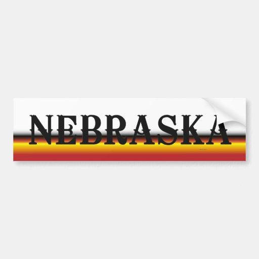 TEE Nebraska Bumper Sticker