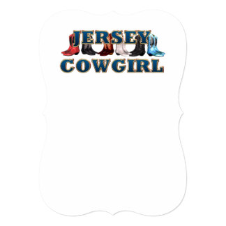 TEE New Jersey Cowgirl Card