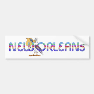 TEE New Orleans Bumper Sticker