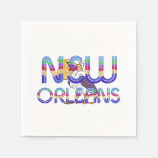 TEE New Orleans Paper Napkin