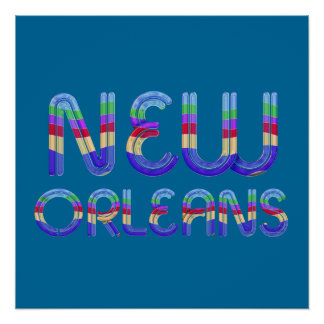 TEE New Orleans Perfect Poster