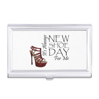TEE New Shoe Day Business Card Case