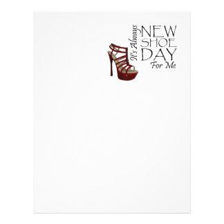 TEE New Shoe Day Custom Flyer