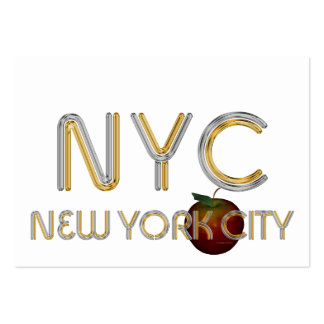 TEE New York City Large Business Cards (Pack Of 100)