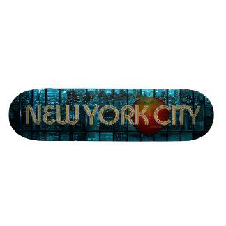 TEE New York City Skateboard Deck