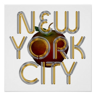 TEE New York City Perfect Poster