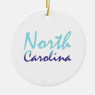 TEE North Carolina Christmas Ornament