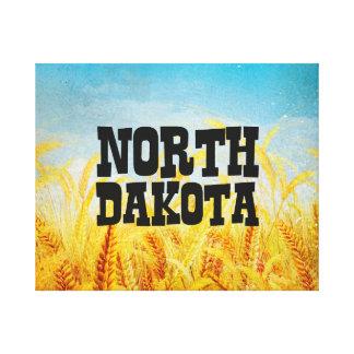 TEE North Dakota Canvas Print