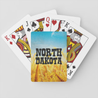 TEE North Dakota Playing Cards