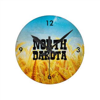 TEE North Dakota Round Clock