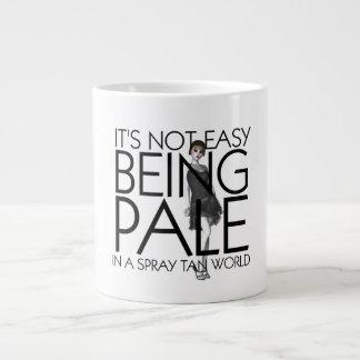 TEE Not Easy Being Pale Giant Coffee Mug