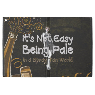 "TEE Not Easy Being Pale iPad Pro 12.9"" Case"