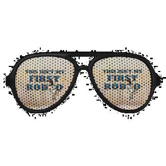 TEE Not My First Rodeo Aviator Sunglasses