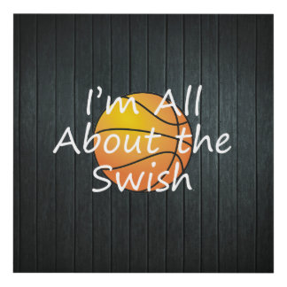 TEE Nothing But Swish Panel Wall Art