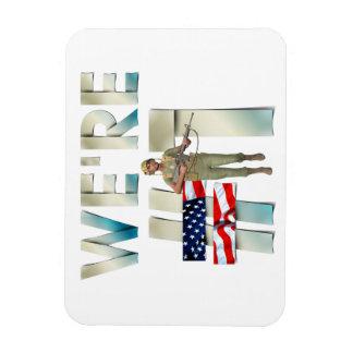 TEE Number One USA Rectangular Photo Magnet