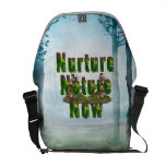 TEE Nuture Nature Now Courier Bag