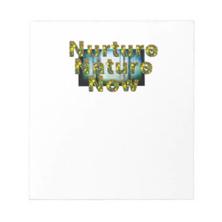 TEE Nuture Nature Now Notepad
