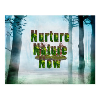 TEE Nuture Nature Now Postcard