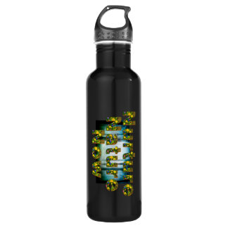 TEE Nuture Nature Now Stainless Steel Water Bottle