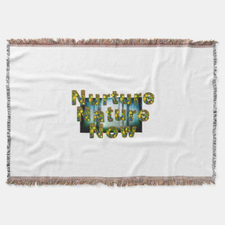 TEE Nuture Nature Now Throw