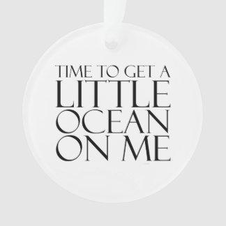 TEE Ocean on Me Ornament
